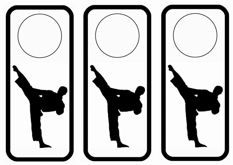 Birthday Printable Karate Birthday Invitations