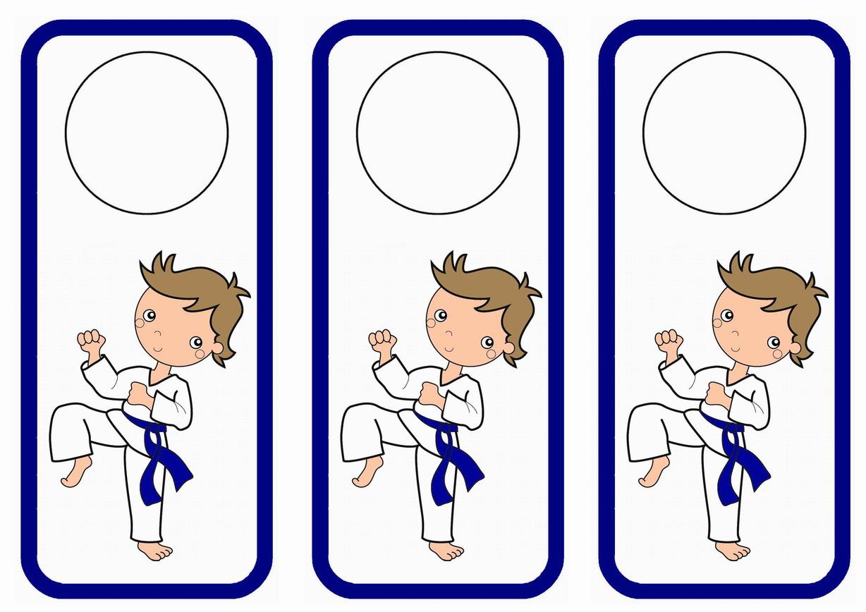 Karate Door Hangers