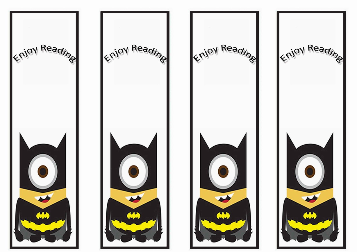 Despicable Me Bookmarks Birthday