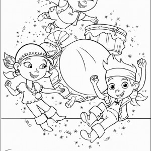 jake and the neverland pirates free printable coloring pages