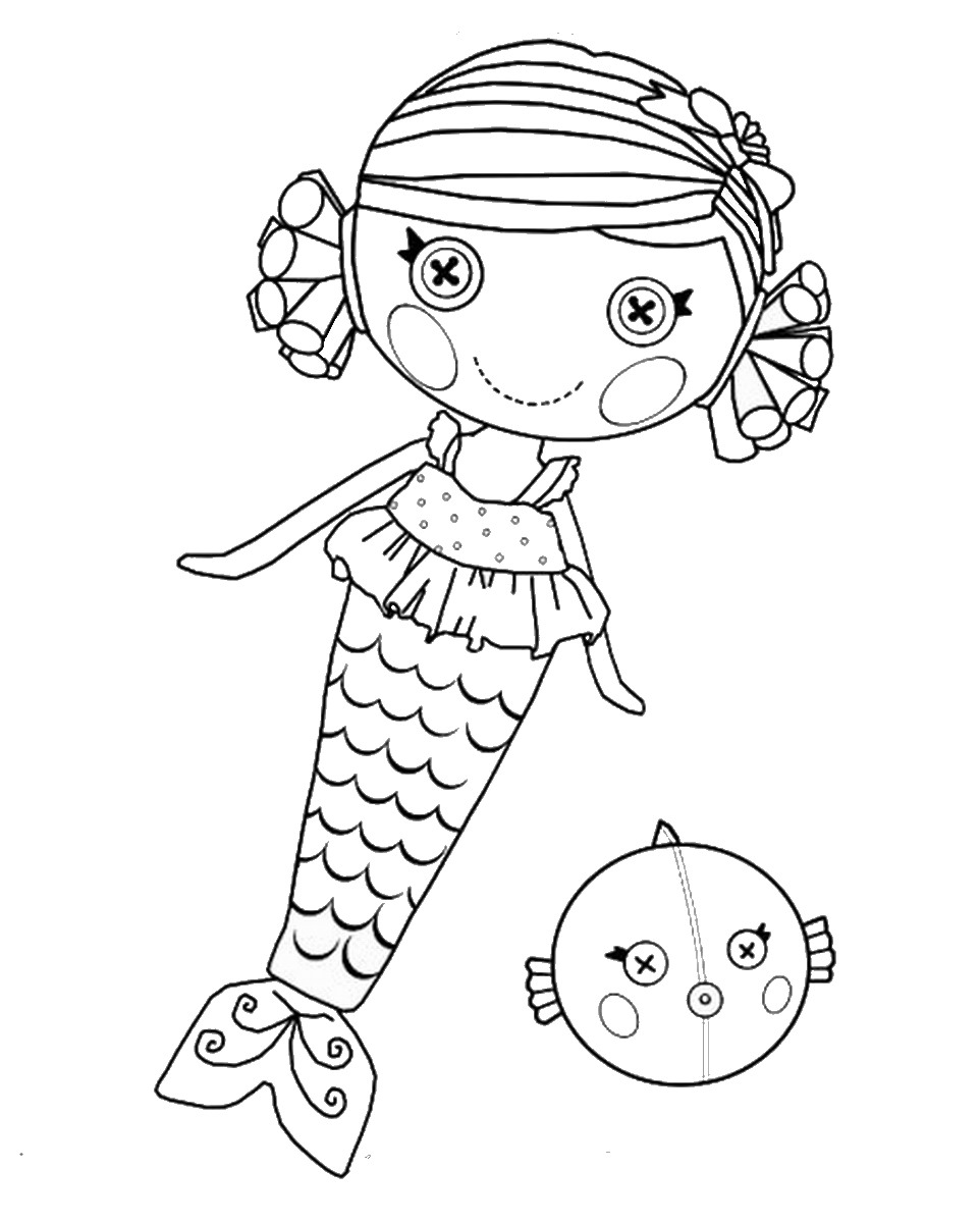 Coloring Pages Coloring Pages Lalaloopsy lalaloopsy coloring pages birthday printable