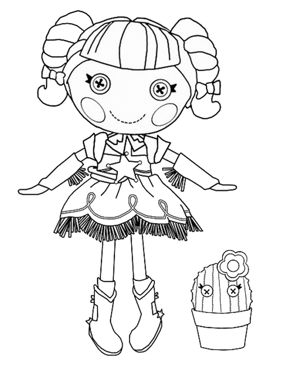 lalaloopsy coloring pages u2013 birthday printable