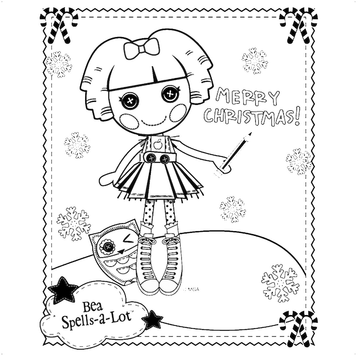 Lalaloopsy Coloring Pages - GetColoringPages.com | 1196x1200