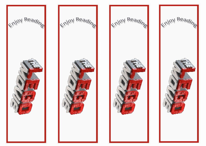 the lego movie bookmarks