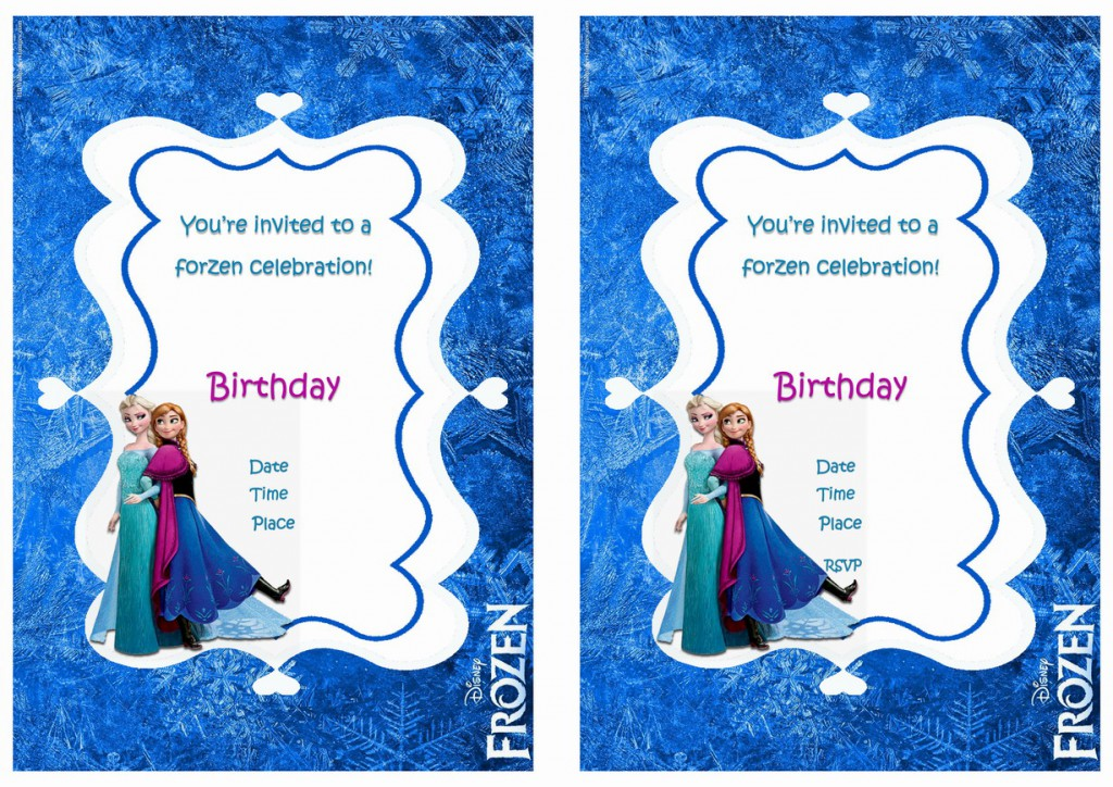 Légend image intended for free printable frozen invites