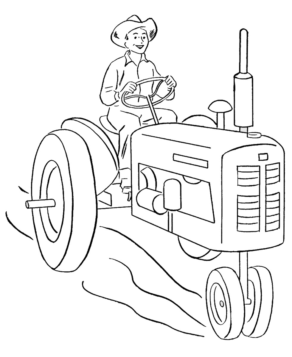 John Deere Coloring Pages | Birthday Printable