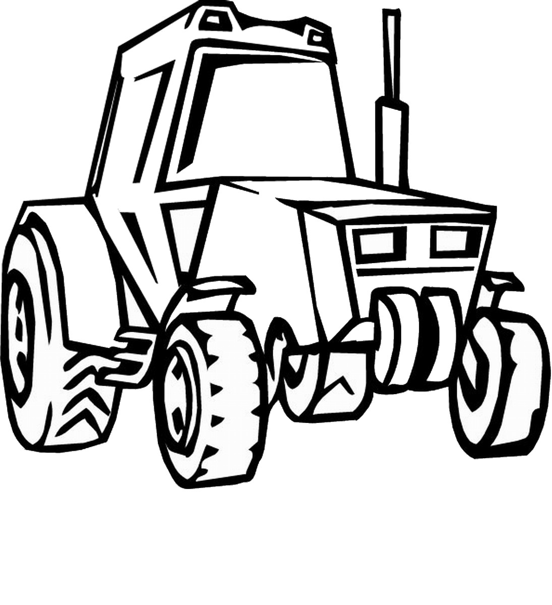 John Deere Printable Coloring Pages