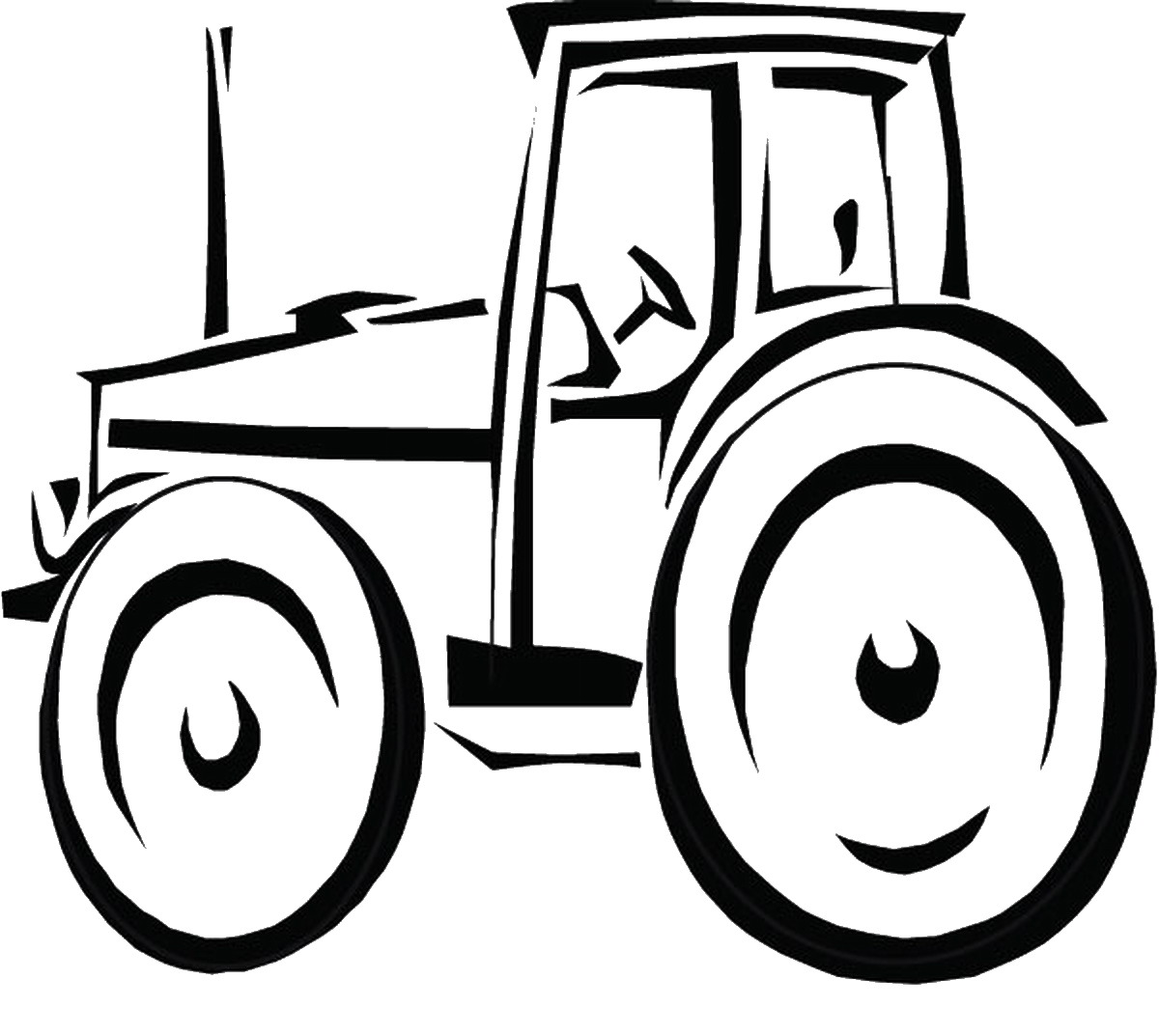 John Deere Coloring Pages Birthday