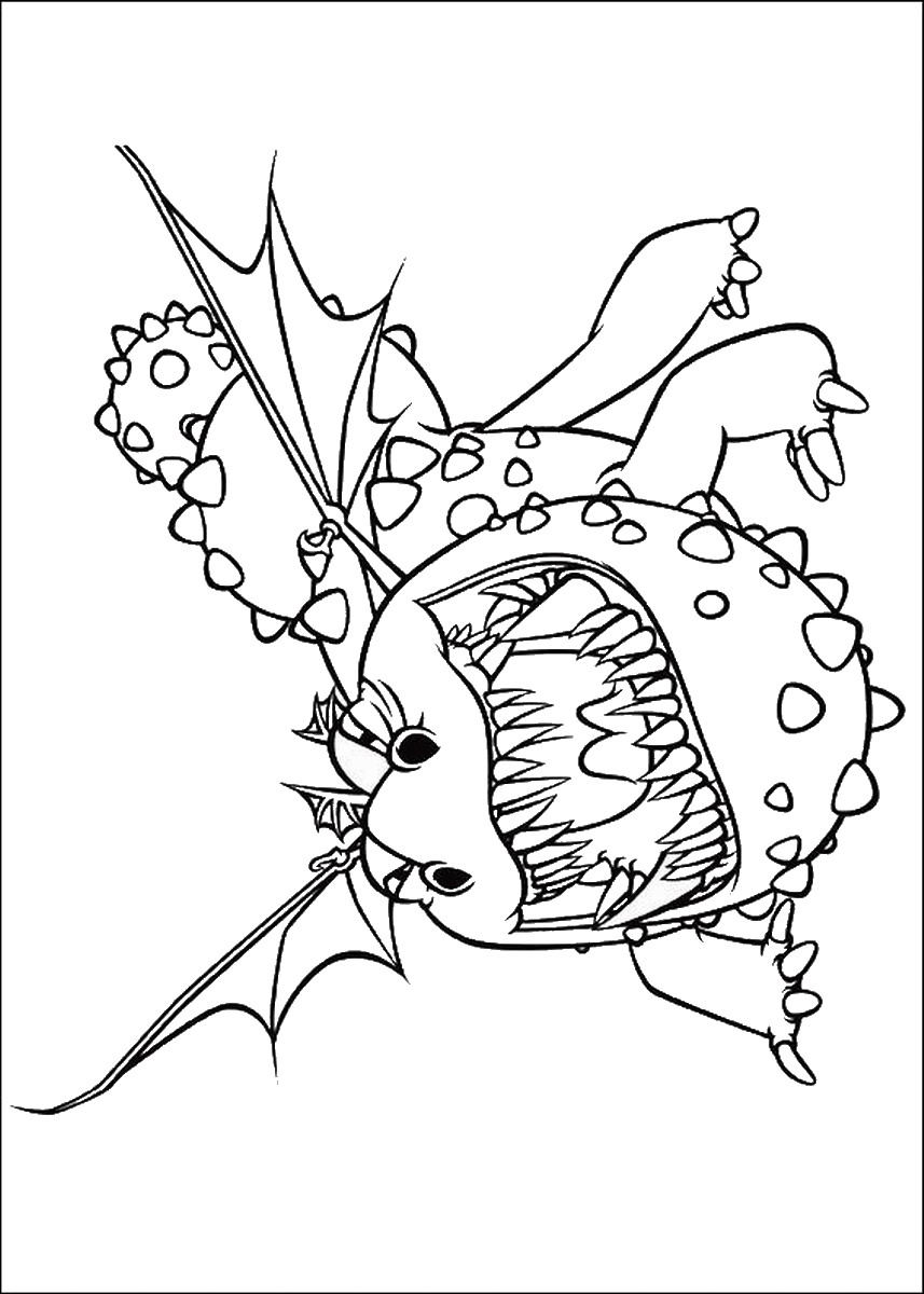 How to train your dragon coloring pages - Printable How To Train Your Dragon 2 Coloring Pages For Kids