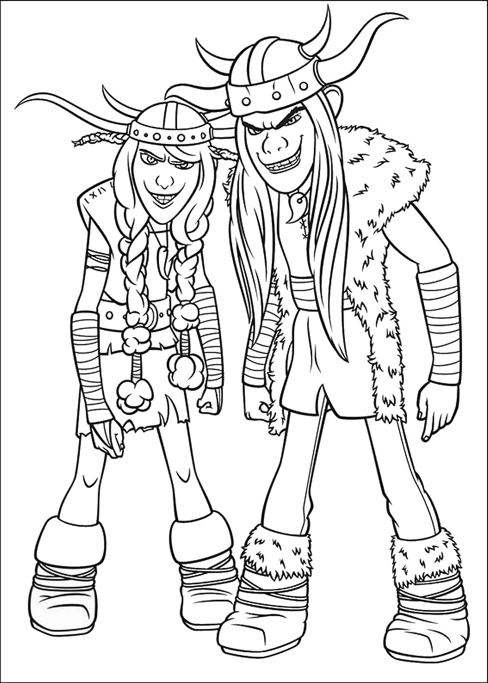 How to train your dragon coloring pages - How To Train Your Dragon Printable Coloring Pages