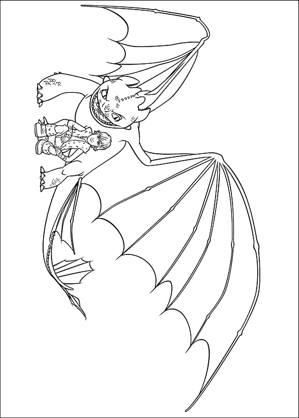 Printable coloring pages how to train your dragon - How To Train Your Dragon Printable Coloring Pages