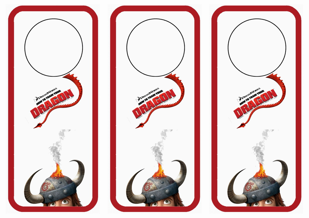 How to train your dragon coloring pages - How To Train Your Dragon Door Hangers