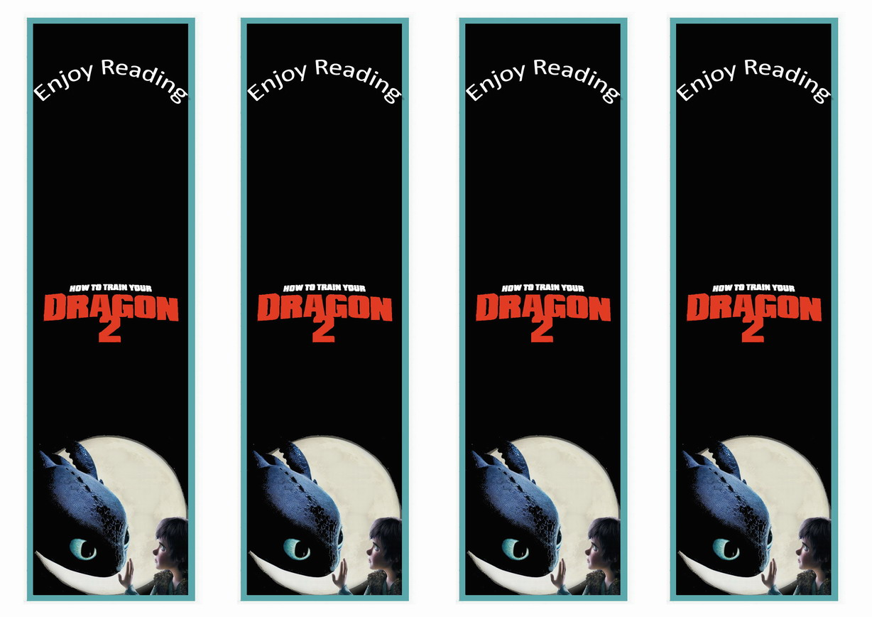 How to Train Your Dragon Bookmarks