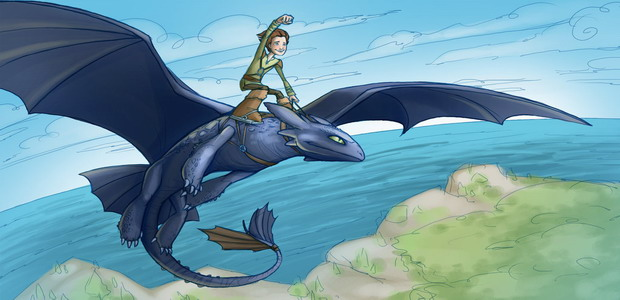 How to Train Your Dragon Coloring