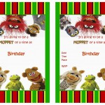 Muppets Most Wanted Birthday Invitations
