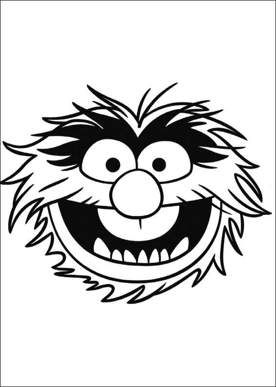 Muppets Most Wanted Coloring Pages Birthday Printable