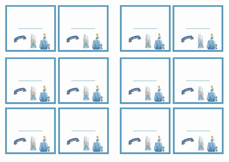 1d6817bf8 Cinderella Name Tags | Birthday Printable