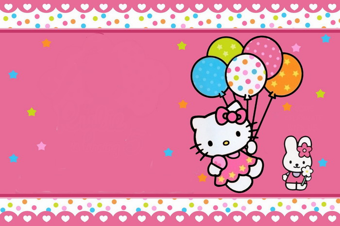 Hello Kitty Baking A Cake Coloring Pages