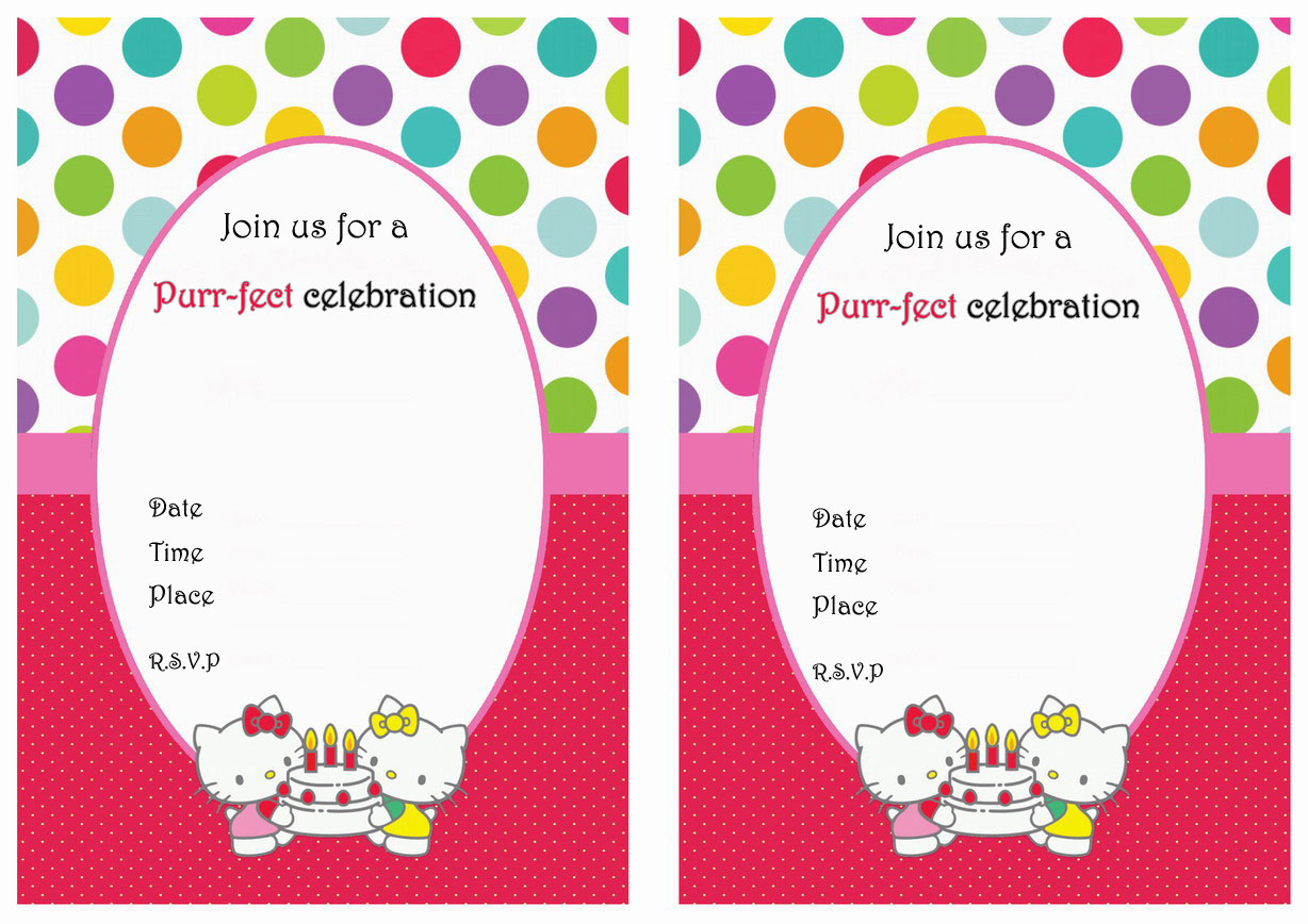 hello kitty birthday invitations gangcraft net hello kitty birthday invitations birthday printable birthday invitations