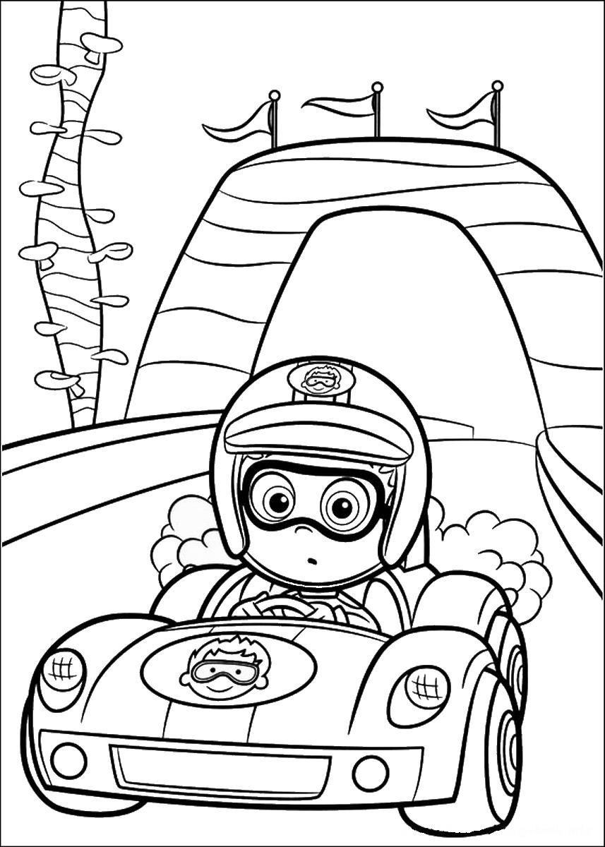 It's just a photo of Delicate Bubble Guppies Printable Coloring Pages