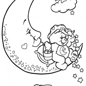 Top 20 Printable Care Bears Coloring Pages - Online Coloring Pages | 300x300