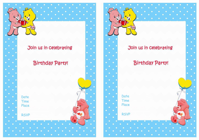 Care bears birthday invitations birthday printable save monicamarmolfo Choice Image