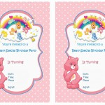Care Bears Birthday Invitations
