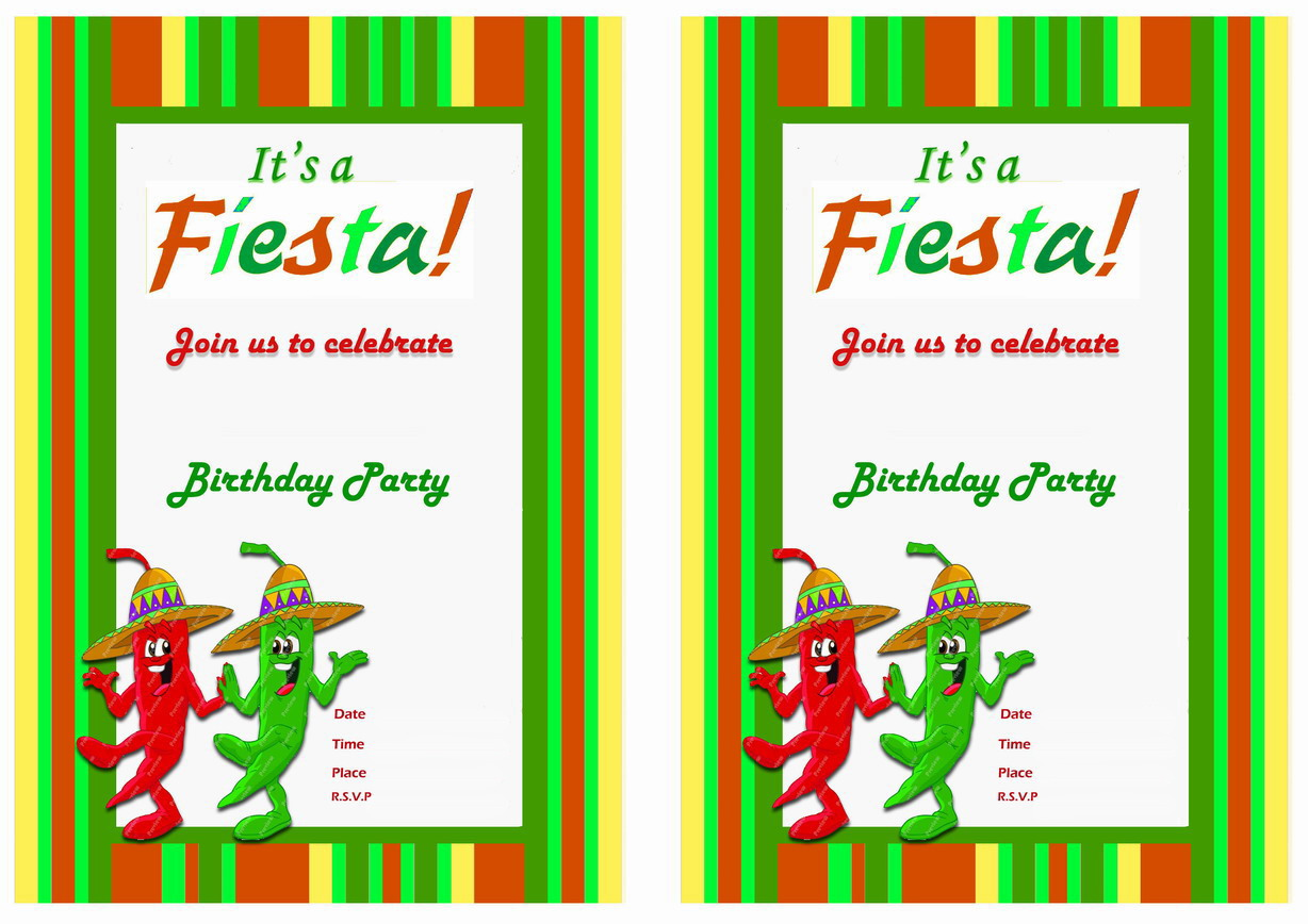 It is a graphic of Dynamite Free Printable Fiesta Invitations