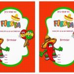 Fiesta Mexican Birthday Invitations