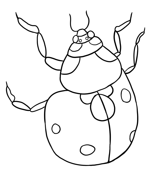 Coloring pages ladybug - Coloring Pages Ladybug 45