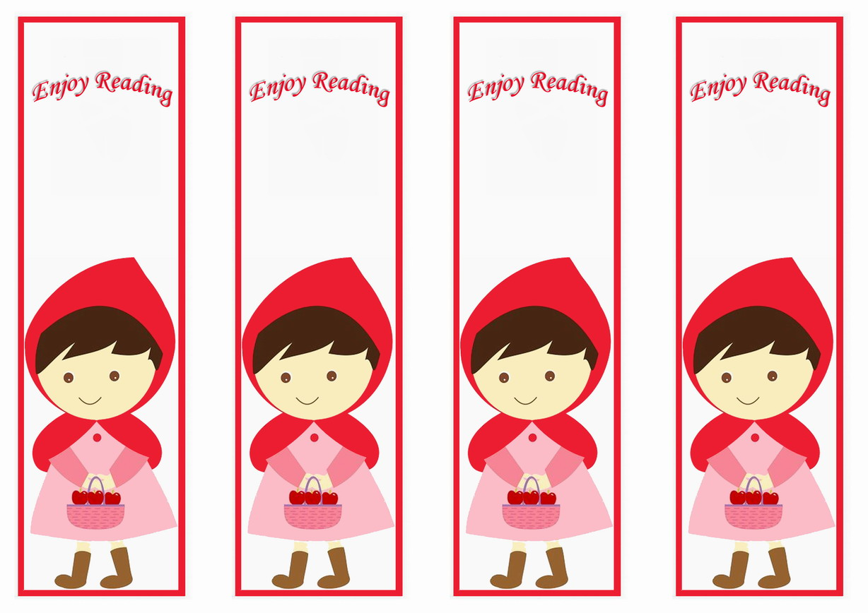 Little Red Riding Hood  Birthday Printable
