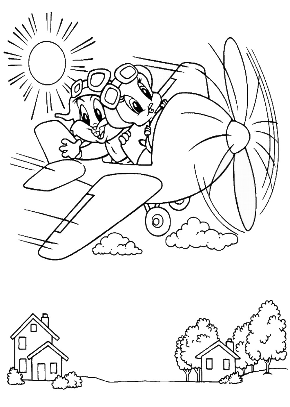 planes coloring pages u2013 birthday printable