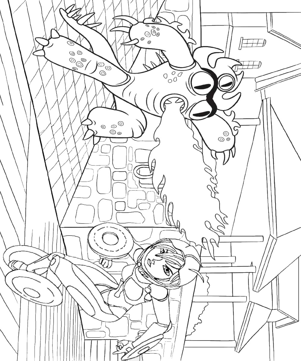 Big Hero 6 Coloring Pages Birthday