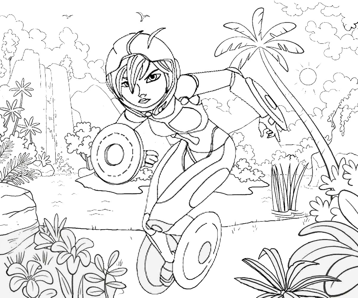 Big Hero 6 Printable Coloring Pages