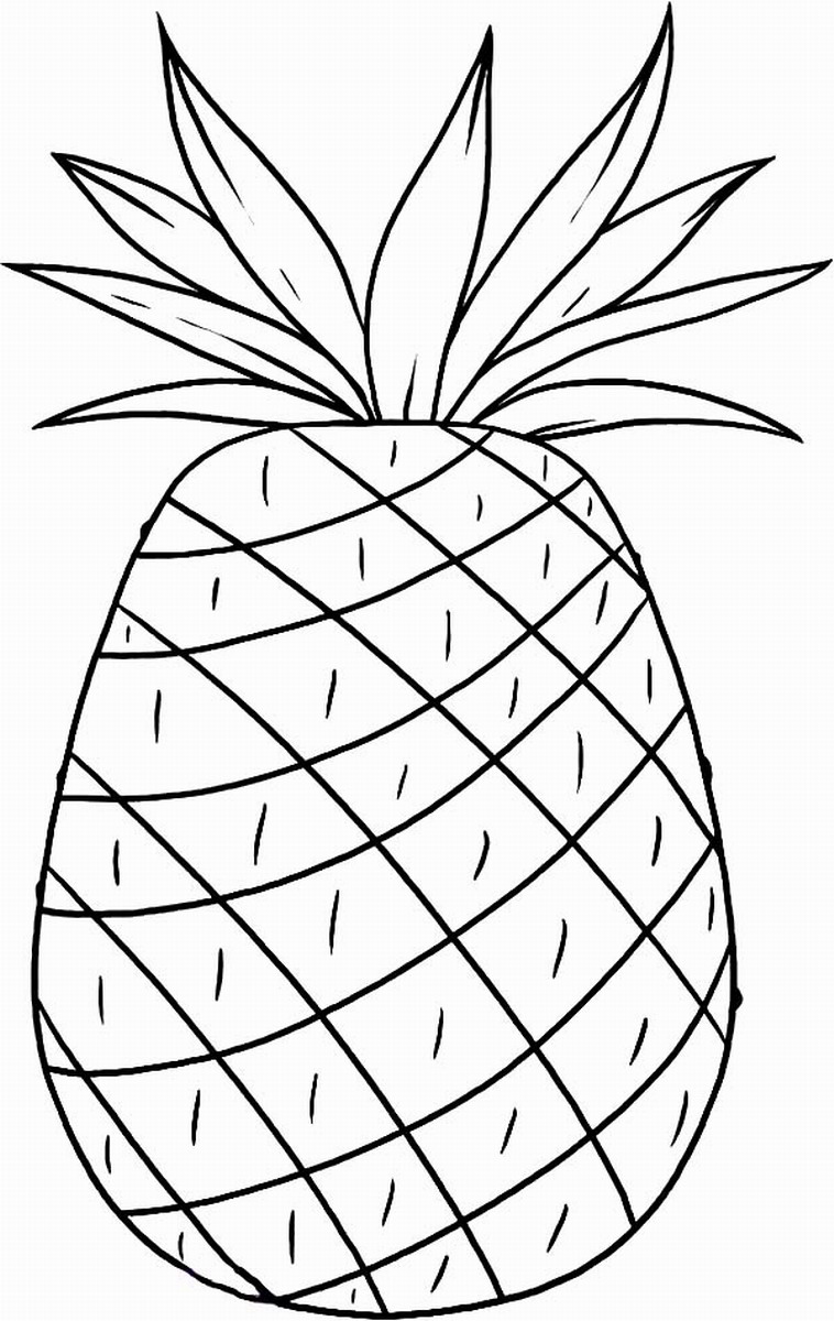 Luau Coloring Pages Birthday