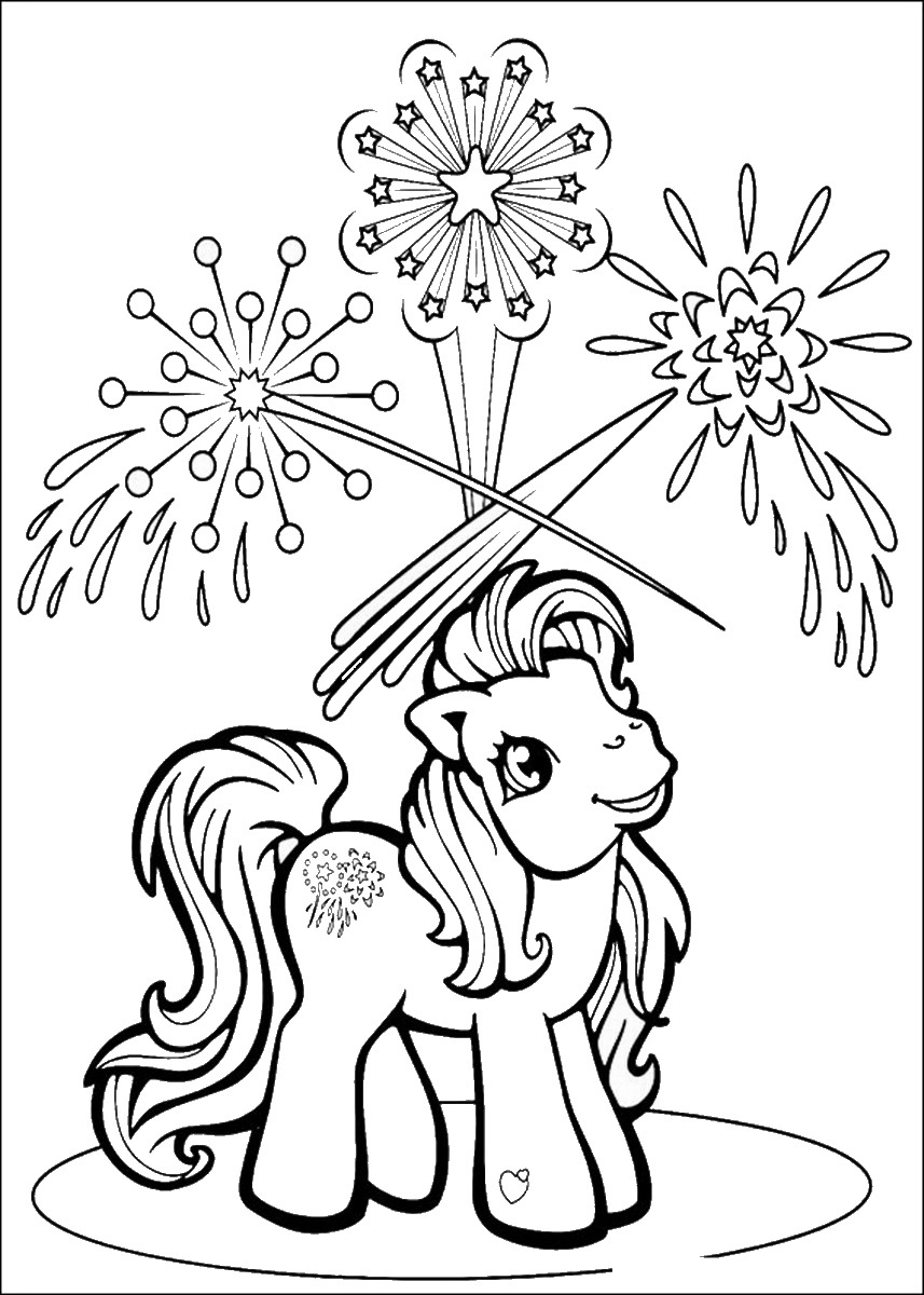 My little pony coloring pages birthday - My Little Pony Coloring Pages