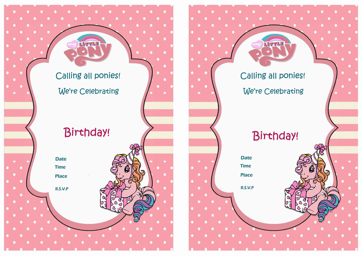 TV Cartoons Invitations – Page 2 – Birthday Printable