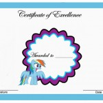 My Little Pony Birthday Awards