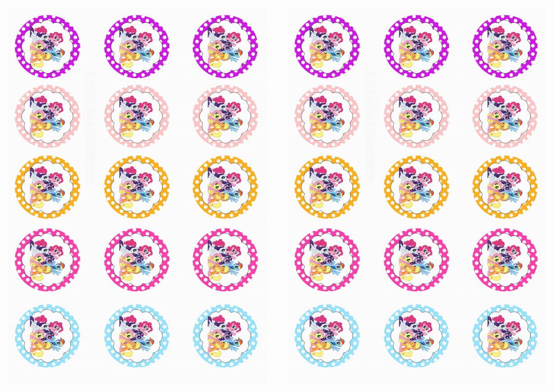 My Little Pony Stickers – Birthday Printable