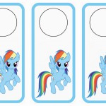My Little Pony Door Hangers