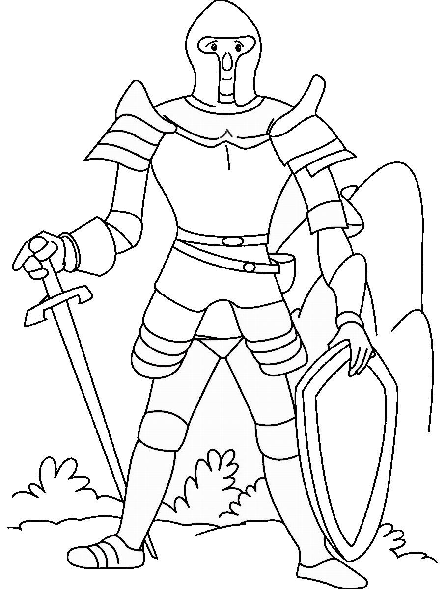 Ninja Warriors Coloring Pages Birthday Printable