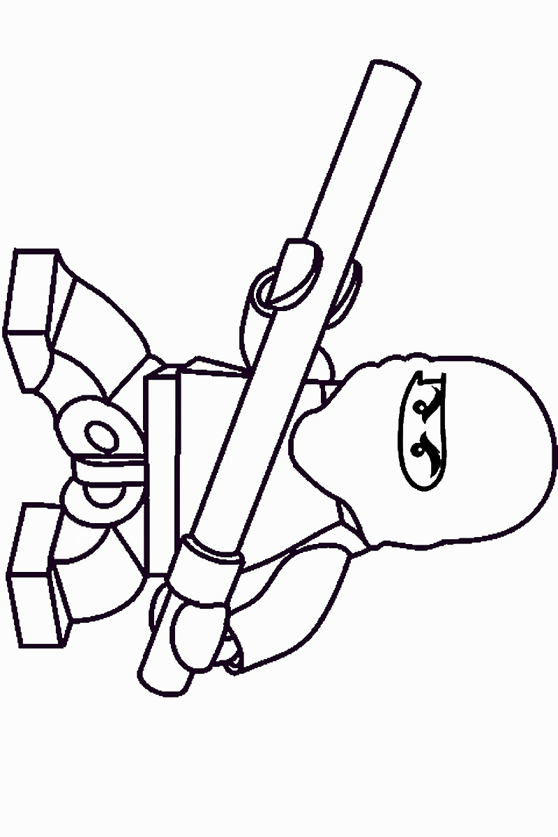 Ninja Warriors Coloring Pages