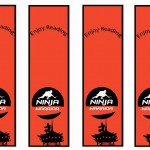 Ninja Warriors Bookmarks