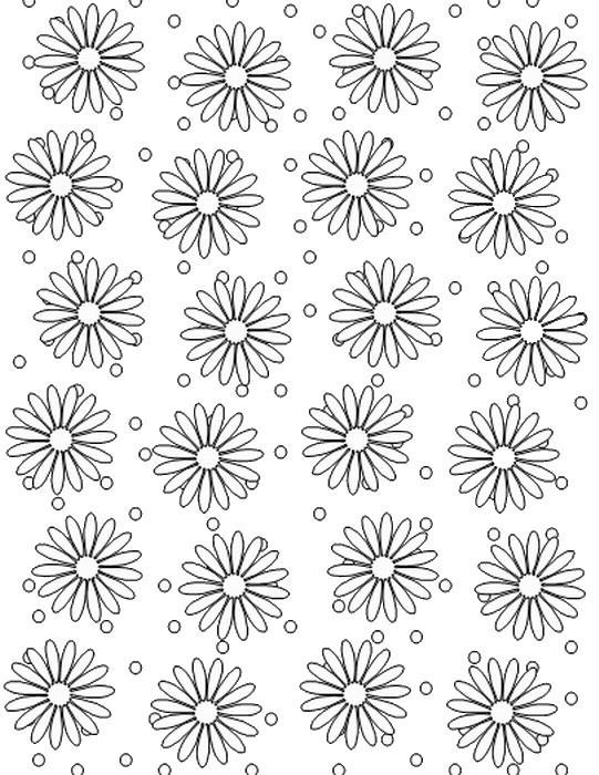 Polka Dots Coloring Pages Birthday