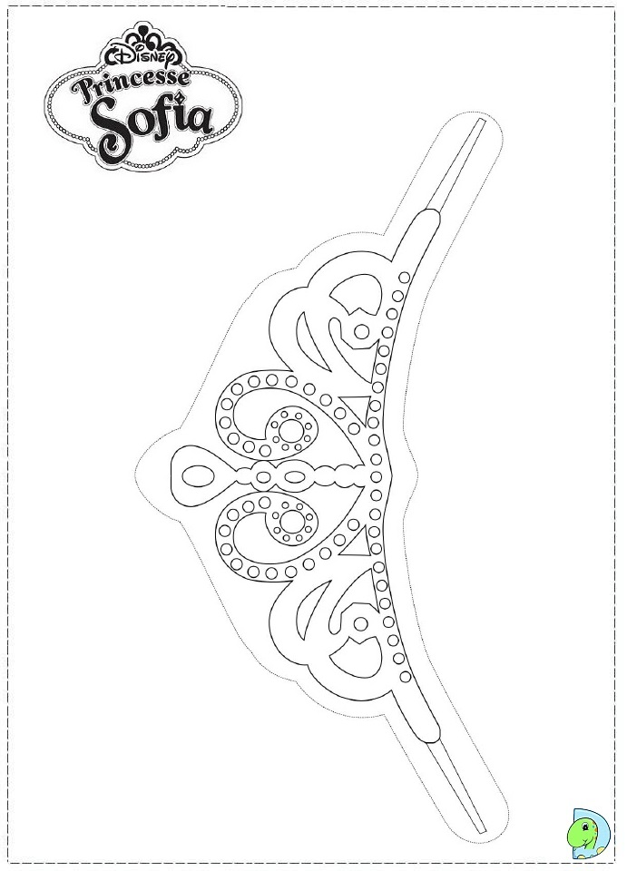Sofia the first coloring pages birthday printable for Sofia the princess coloring pages