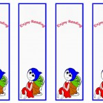 Inside Out Bookmarks