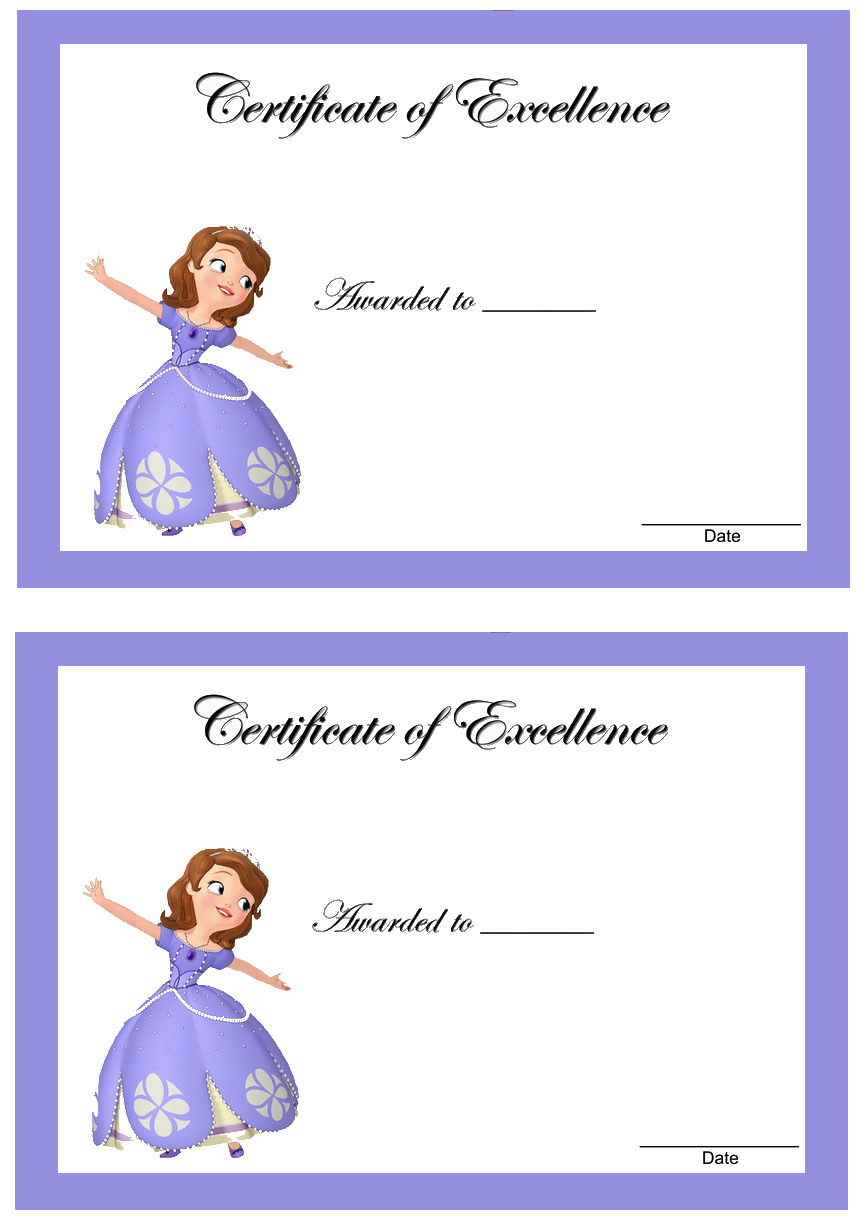 Sofia the First Awards Birthday
