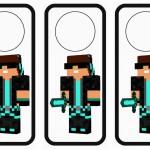 Minecraft Door Hangers