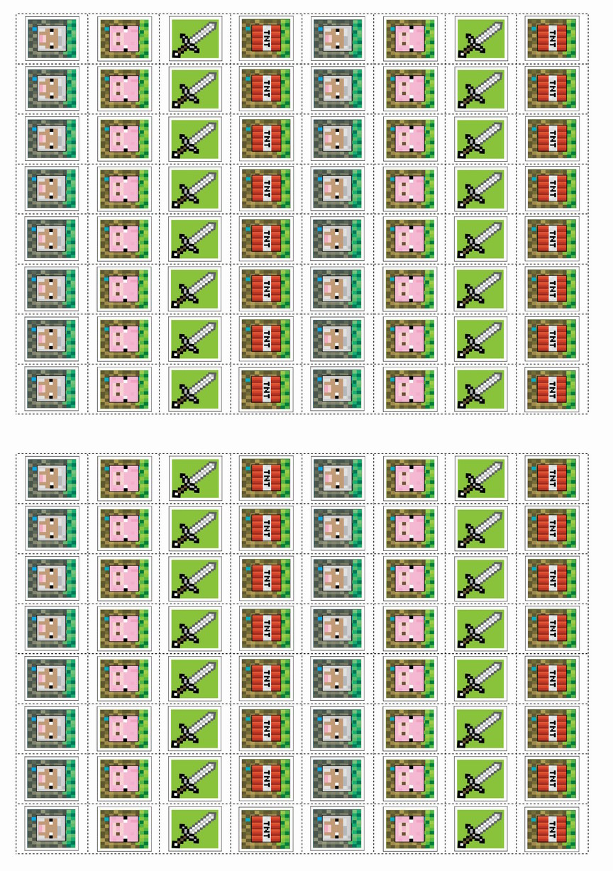 It's just a graphic of Free Printable Minecraft Food Labels with regard to gold