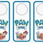 Paw Patrol Door Hangers